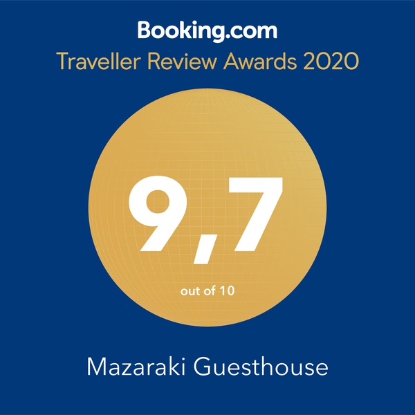 Booking Award Image for Mazaraki Guesthouse Award